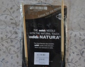 "Addi Natura US 8 / 5mm 32"" Circular Bamboo Knitting Needles"