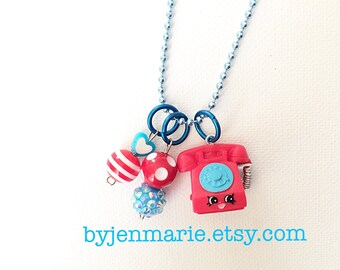 Shopkin Charm Necklace Chatter Season 3