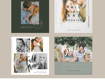 Fall Minis Instagram Ready Boards  vol1