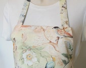 Full Apron - Birds, Butterflies and Dragonflies