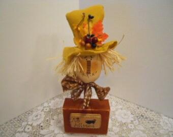 FALL, Primitive, Scarecrow Make Do
