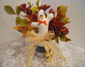 FALL, Halloween, Boo Bucket, Floral Design