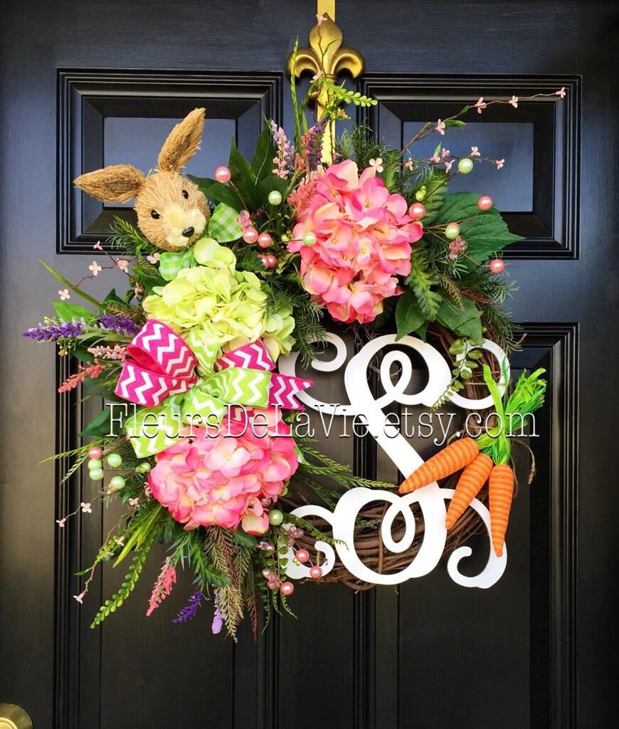 Easter Door Wreaths Easter Wreath Front Door By Fleursdelavie