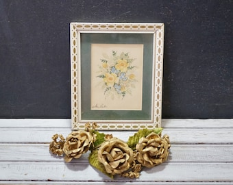 Small Watercolor Roses Painting