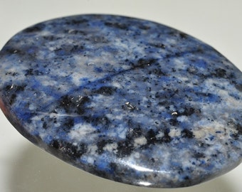 Listed @ 15% Off Salw Was 16.99---32x43x9mm Denim BLUE DUMORTIERITE Large Oval Pendant - E0946