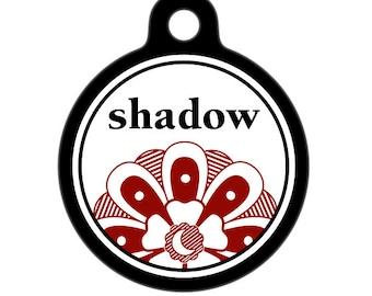 Personalized Pet ID Tag - Shadow Custom Name Pet Tag, Dog Tag, Cat Tag