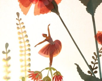 Waltz of the Flowers - Photographic print by Elly MacKay
