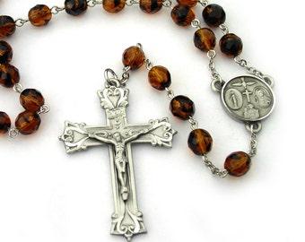Catholic Rosary for Men Prayer Beads