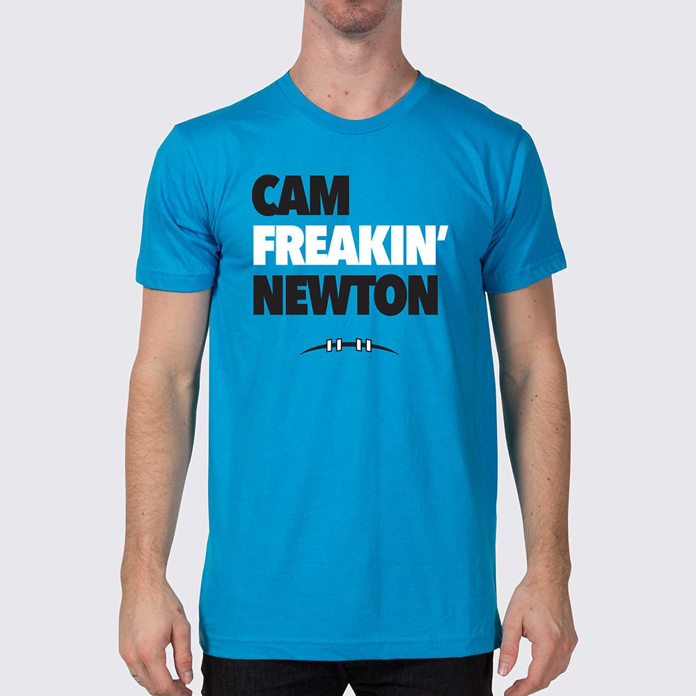 Wholesale NFL Nike Jerseys - Carolina Panthers Cam Freakin' Newton T-Shirt by joneallen
