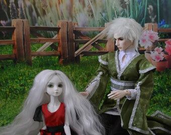 Photography Backdrop/Background for BJD MSD 1/4 or YOSD 1/6 doll outdoor