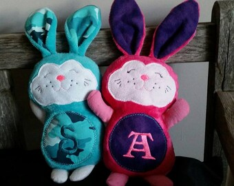 Custom bunny, easter bunny,personalized,easter