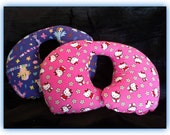 Travel Pillow, Car Seat Neck Support - Infant to Adult Sizes - Hello Kitty / My Little Pony