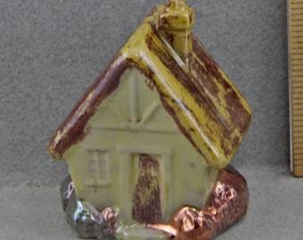Handmade Raku House For 1 Inch  Frozen Charlotte  Small House