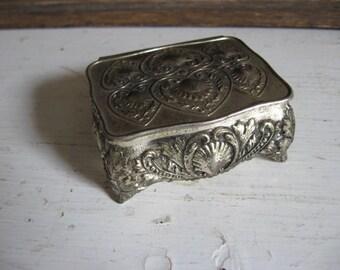 Scalloped Shell Trinket Box