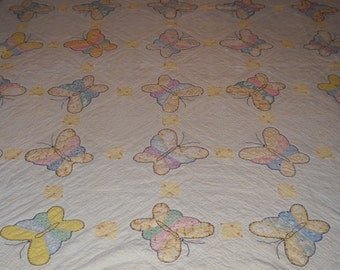 Butterfly Vintage Cutter Quilt