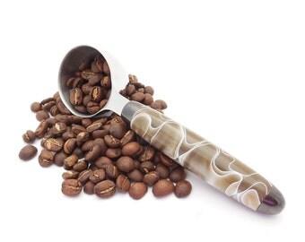 Coffee Scoop, Handmade Coffee Scoop