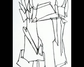 untitled - original line drawing