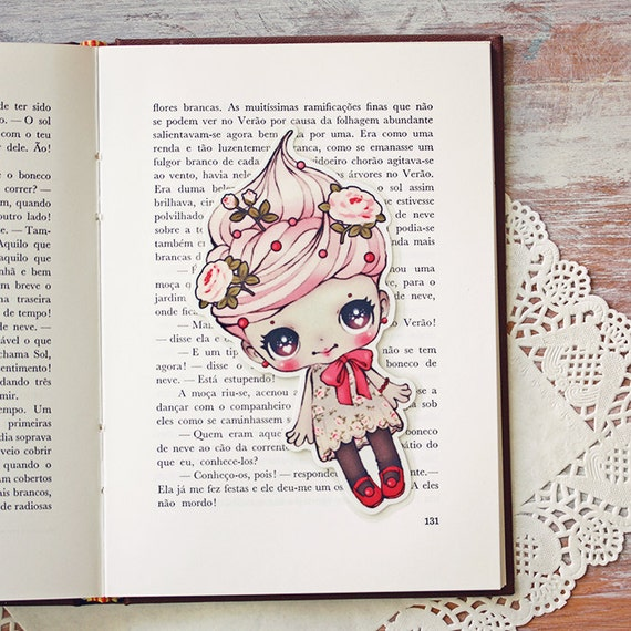 Whippita - bookmark - made to order