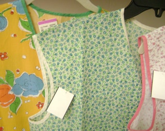 1950's Vintage Apron Pretty Green