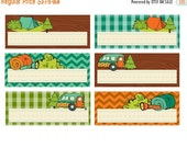 ON SALE KPM Small Name card Printables Happy Campers
