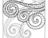 KPM Doodles Coloring page Tenticles