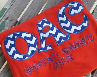 Teacher  School Shirt Chevron School Spirit Shirt