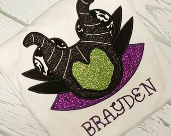 Personalized Disney Maleficent Sleeping Beauty shirt