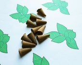 Basil Scented Cone Incense - Incense Cones - Aromatherapy - Aroma - Essense - Home Decor - Gift for Adults