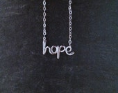 Plated word/name necklace