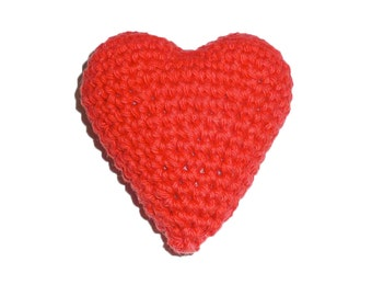Squeaker Heart Dog Toy
