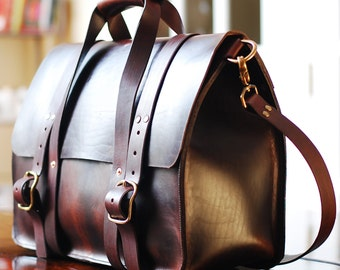 Leather briefcase, leather laptop bag, DSLR camera bag, Weekend bag, Cabin bag, Kindle, Ipad bag