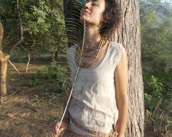 Double Top~ Earthy Natural Cotton ~