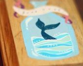 Free Soul - hand painted nautical plaque