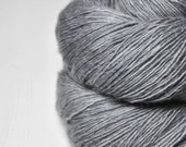 Gray which must not be named - Merino/BabyCamel Fingering Yarn