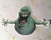 Slimer Ghostbusters sticker