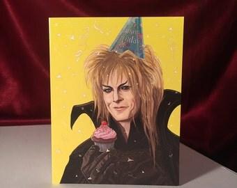LABYRINTH Birthday card
