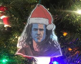 Braveheart Christmas Ornament