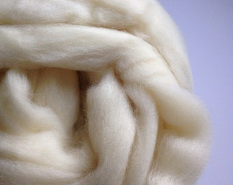 Southdown Babydoll wool roving, combed top, pound 1 lb