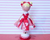 SweetHeart Jamie Miniature Wooden Clothespin Doll