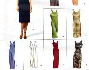 Vogue Easy Options 2446 Misses' Dress Sewing Pattern - Uncut - Size 18, 20, 22 - Bust 40, 42, 44