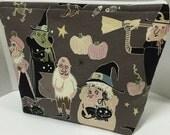 Hagatha's Halloween - Medium Zippy Poor Girl Project Bag