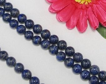 natural Lapis Lazuli 10mm round Loose Beads