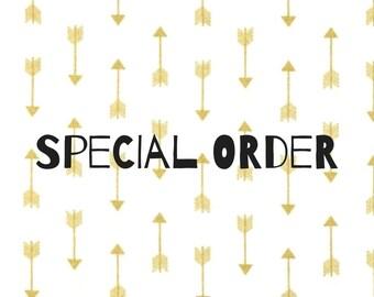 Special order- bingo bag