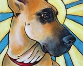 Custom Pet Portrait  Acrylic on 9x12 Canvas Painted from your photographs Dog Art