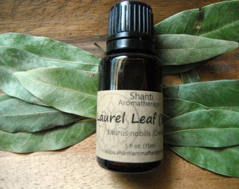 Laurel Leaf (Bay Leaf) Essential Oil - pure essential oil