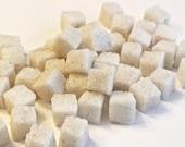 Vanilla Bean Sugar Cubes for Tea Parties, Champagne Toasts, Favors, Coffee, Tea, Berries, Cider, Lemonade