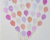 Balloon Bouquet- baby shower or birthday gift, nursery or game room decoration