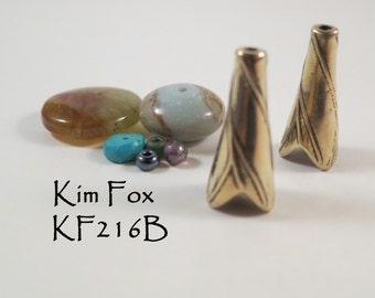 Twigs Cones in Golden Bronze by Kim Fox