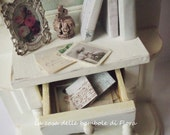 RESERVED Hall stand with accessories - 1:12 dolls house dollhouse miniature