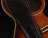 Black Fillmore Guitar Strap